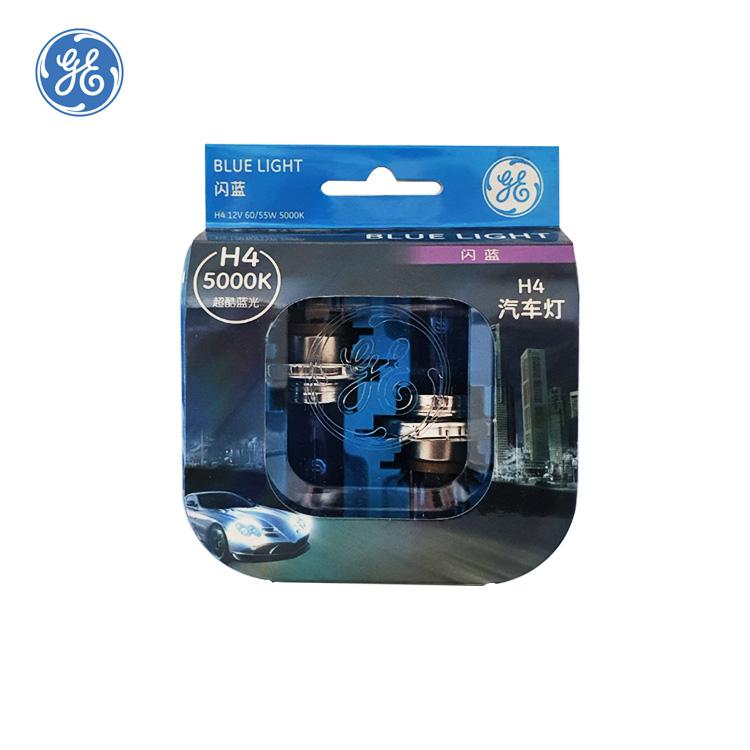 GE H4 60/55W 5000K 블루라이트 화이트색상